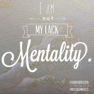 Lack mentality