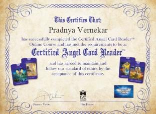 CACR Certificate